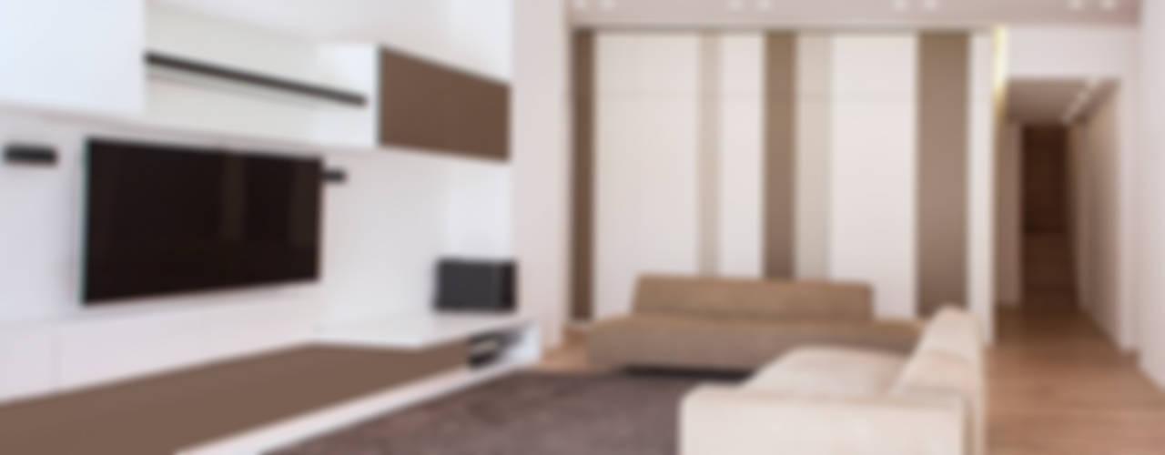 casa KUBE Soggiorno moderno di Stefania Paradiso Architecture Moderno