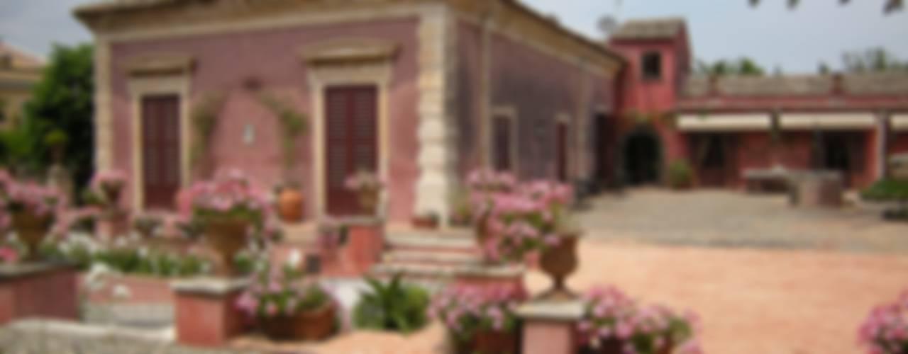 Mediterranean style garden by SciaraNiura landscape architecture studio Mediterranean