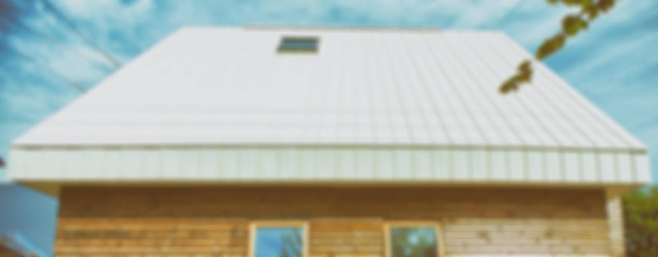 手稲の三角 モダンな 家 の 石塚和彦アトリエ一級建築士事務所 モダン
