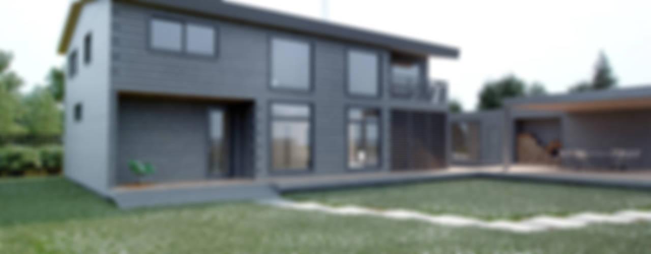 Дом AUS: Дома в . Автор – INT2architecture, Минимализм