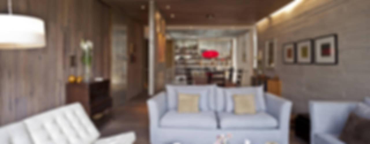 EDIFICIO TEOTIHUACAN: Salas de estilo  por Cm2 Management, Minimalista