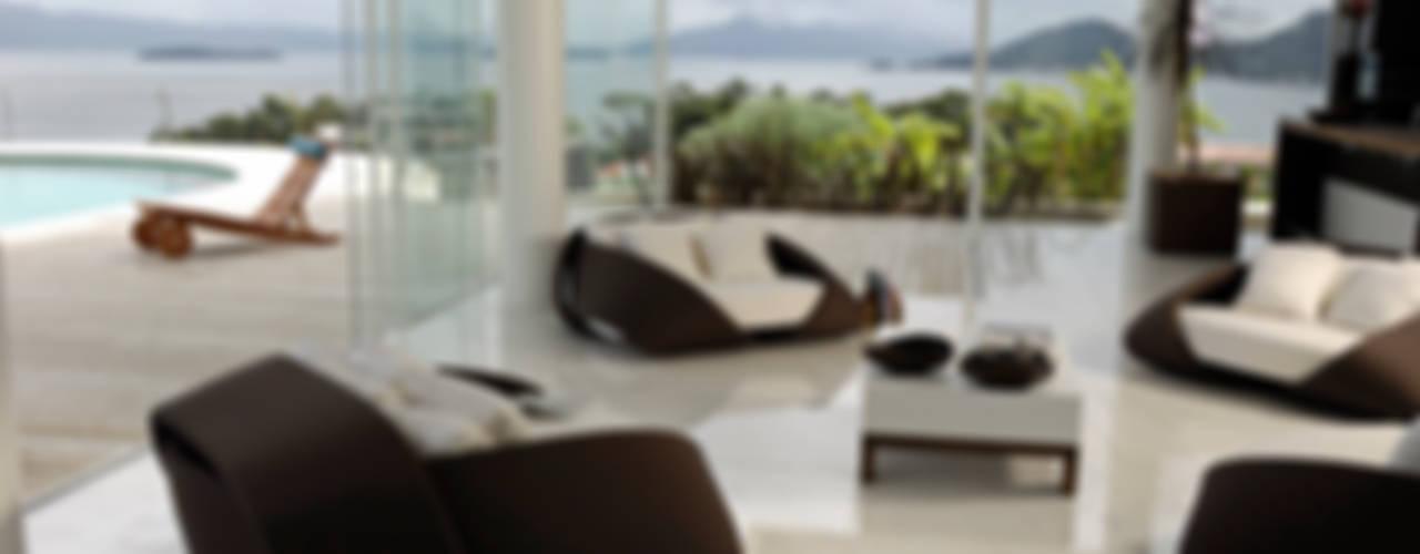 Modern Oturma Odası Mantovani e Rita Arquitetura Modern