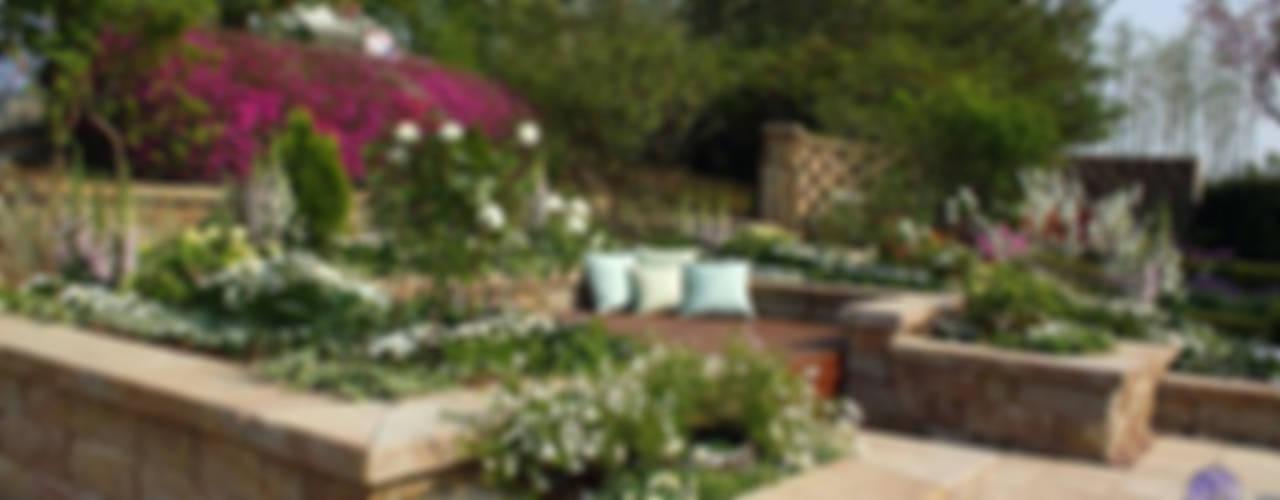 Jardin de style  par Garden Studio Allium,