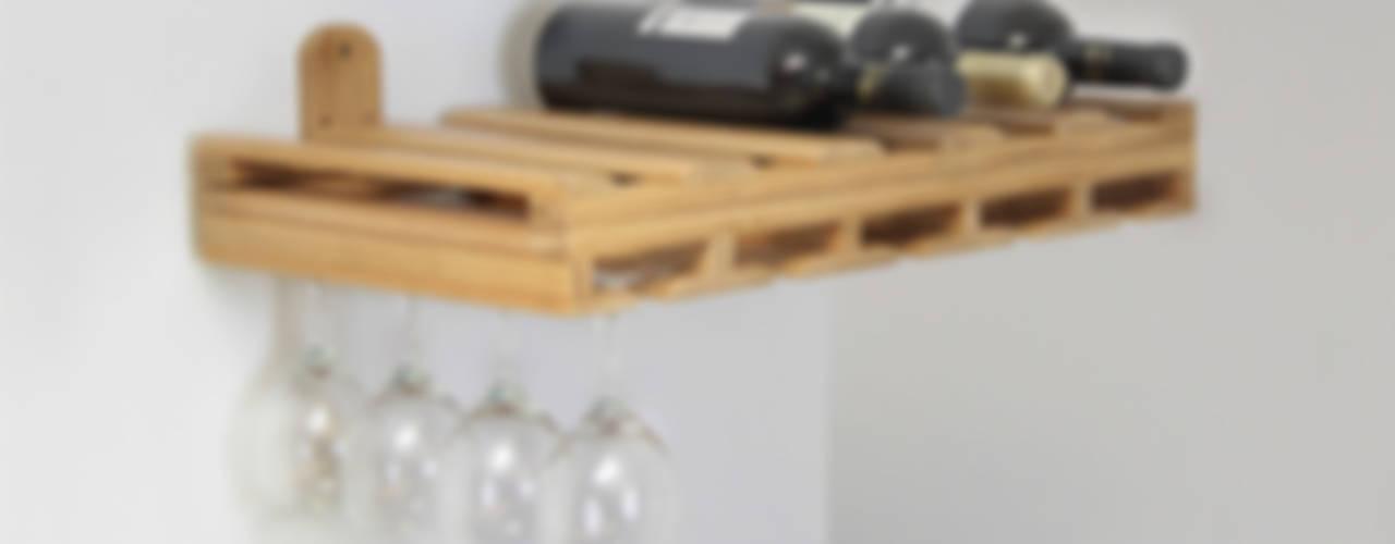 Hanging Glass Rack and Wine Bottles Holder Finoak LTD CuisineGarde-manger