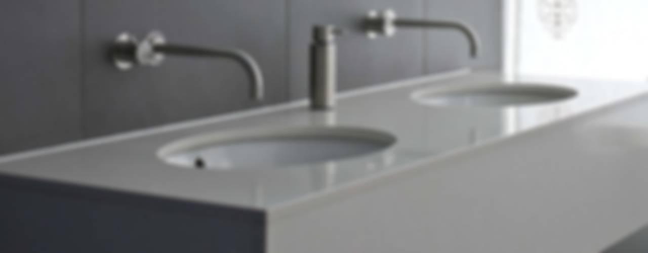 Vicarage Gardens Sonnemann Toon Architects BathroomSinks