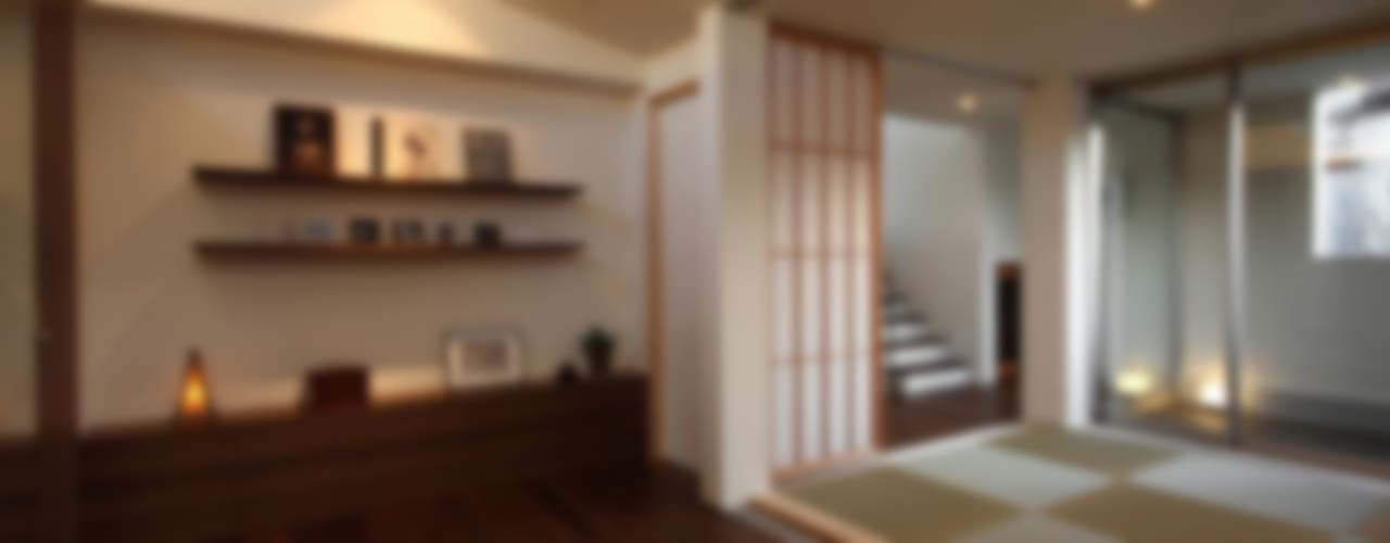 Modern style bedroom by アーキシップス古前建築設計事務所 Modern