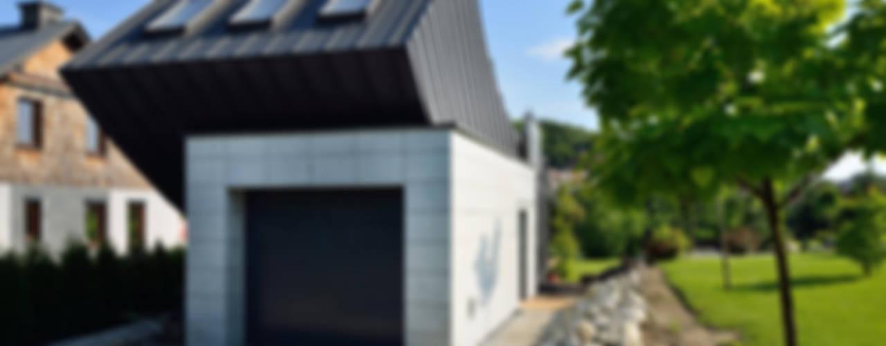 Domo Dom Minimalistyczne domy od ARCHITEKT.LEMANSKI Minimalistyczny