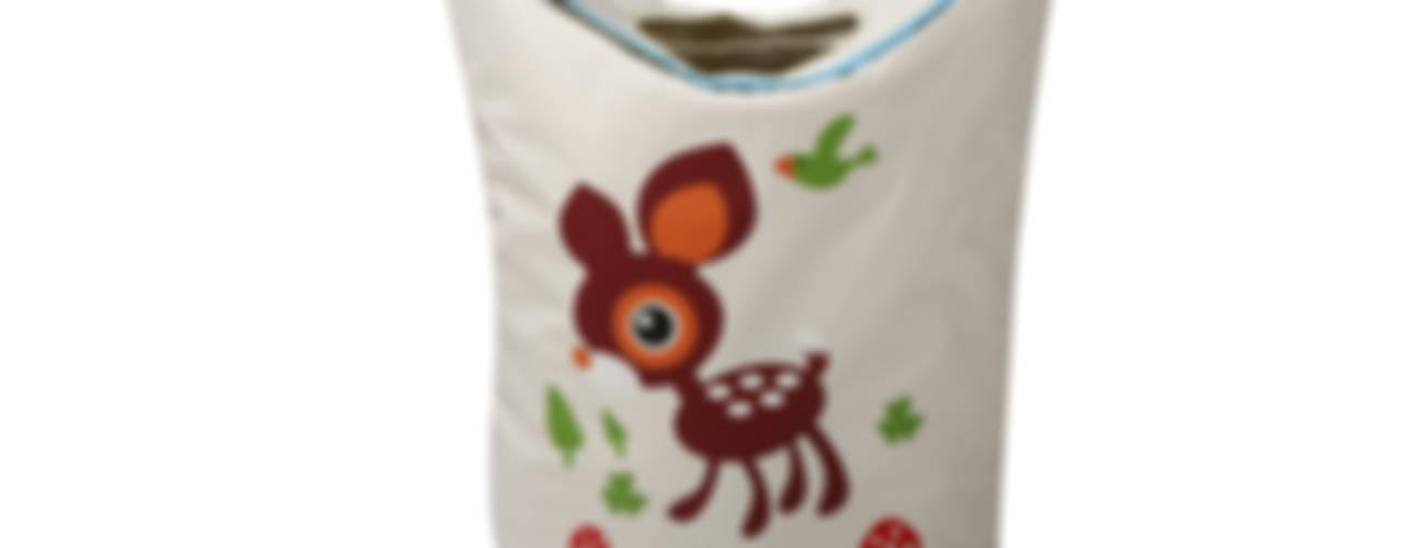Laundry Bags - Cute animal Prints: modern  by Uberlyfe,Modern