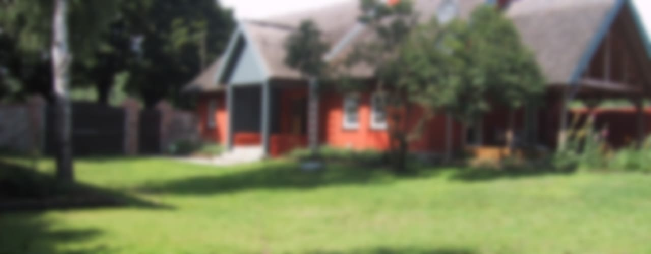 Ferienhaus bei Prenzlau Garten im Landhausstil von Stockwerk Orange Landhaus