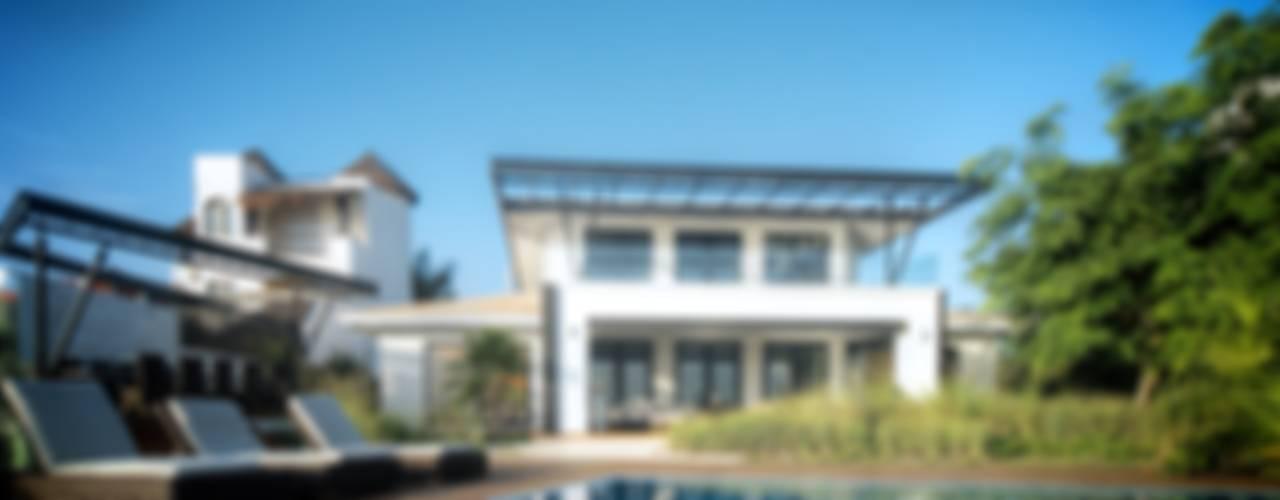 Casa SDLV Casas de estilo moderno de sanzpont Moderno