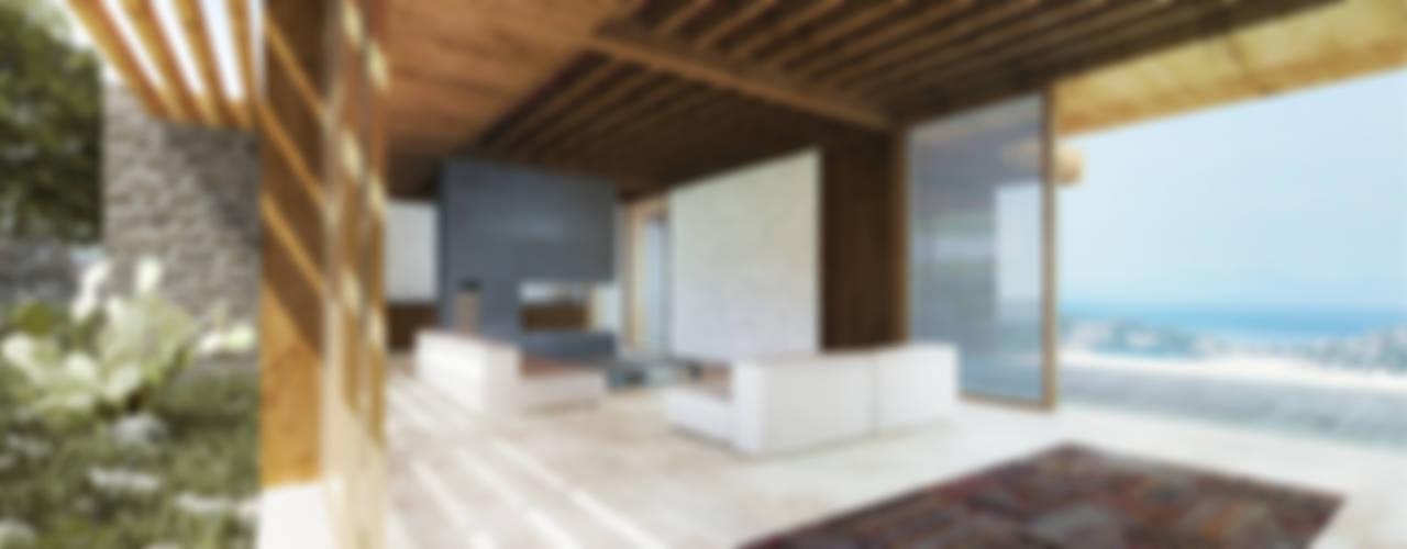 Atelye 70 Planners & Architects – Sandima Village Renovation Project:  tarz Oturma Odası