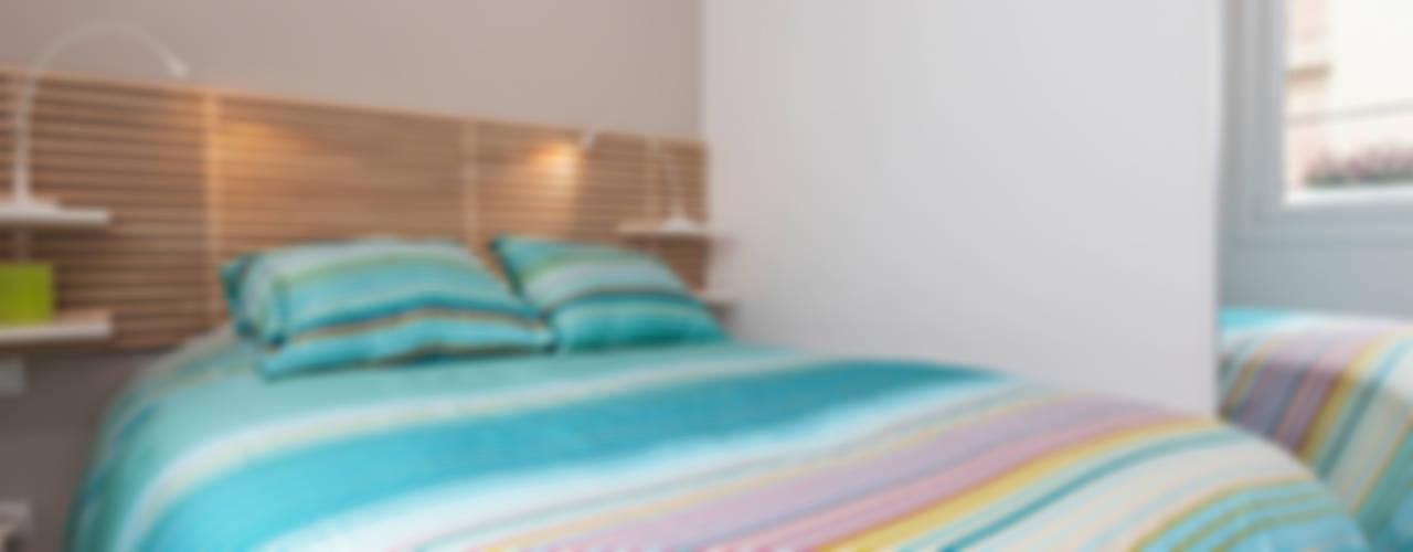 Modern Yatak Odası MARIA JOSE ENERGICI P. Modern