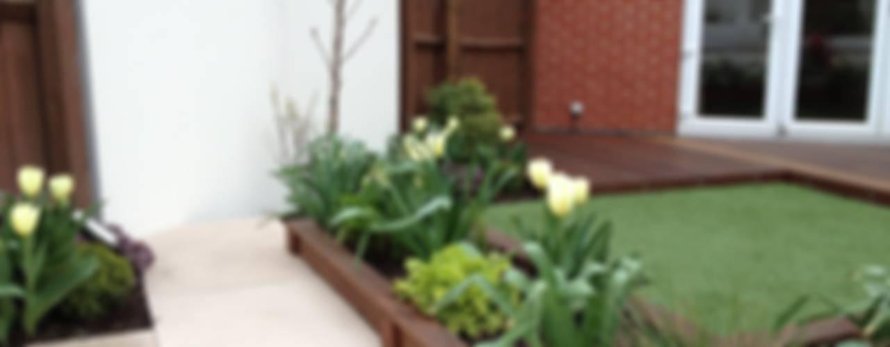 Contemporary Garden Jardines de estilo moderno de Lush Garden Design Moderno