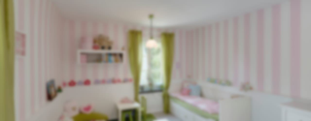 غرفة الاطفال تنفيذ 28 Grad Architektur GmbH, حداثي