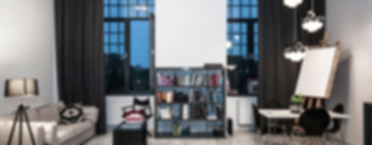 Loft w Łodzi: styl , w kategorii Salon zaprojektowany przez I Home Studio Barbara Godawska,Eklektyczny