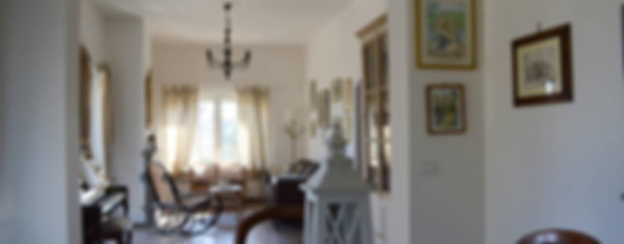 Ristrutturazione villa monofamiliare in Filacciano (Rm). Studio di Architettura Zuppello Soggiorno classico