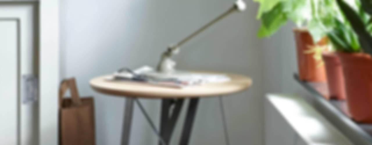 Twister table series for Spoinq (NL) par Marc Th. van der Voorn Minimaliste