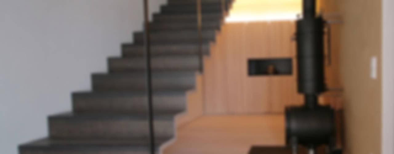 traditionell modern bauen Moderner Flur, Diele & Treppenhaus von Arc Architekten Partnerschaft Modern
