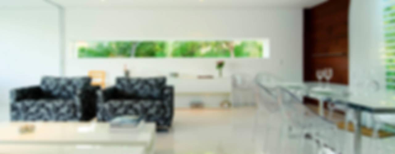 Casa Carqueija Salas de estar modernas por dantasbento   Arquitetura + Design Moderno