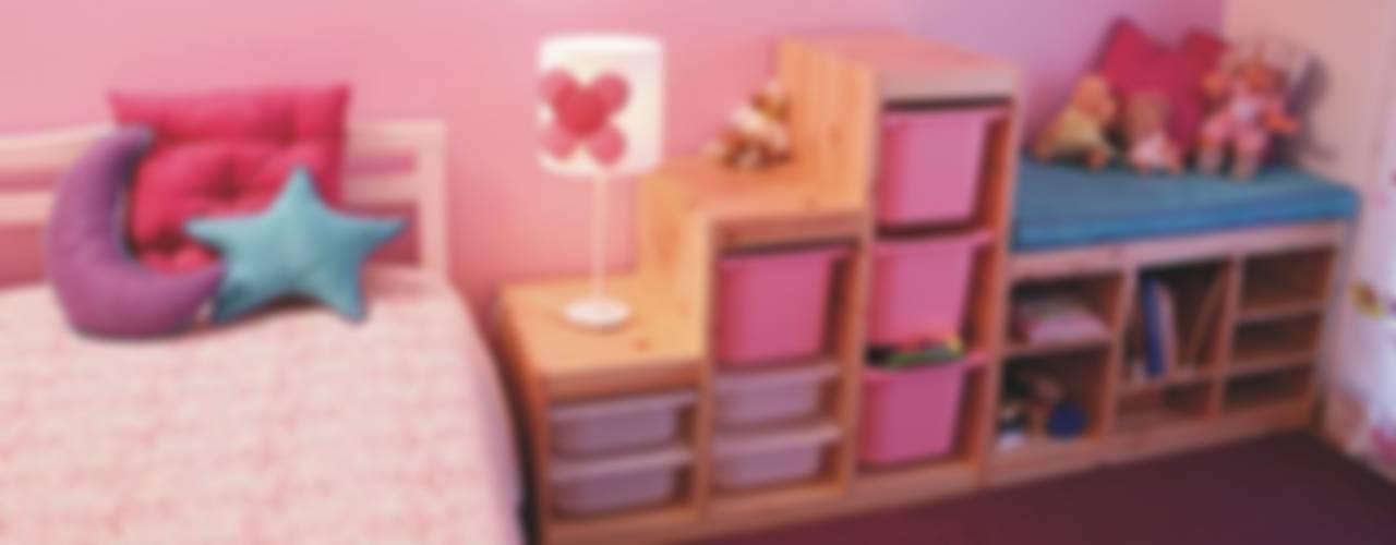 غرفة الاطفال تنفيذ Traço Magenta - Design de Interiores