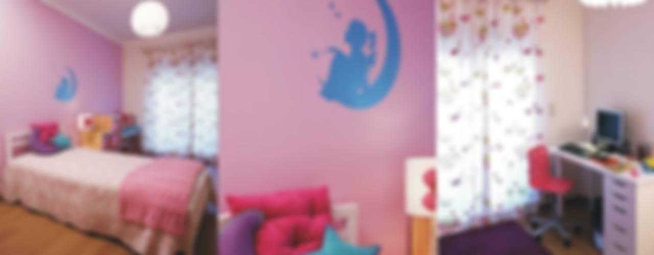 Traço Magenta - Design de Interiores Modern nursery/kids room