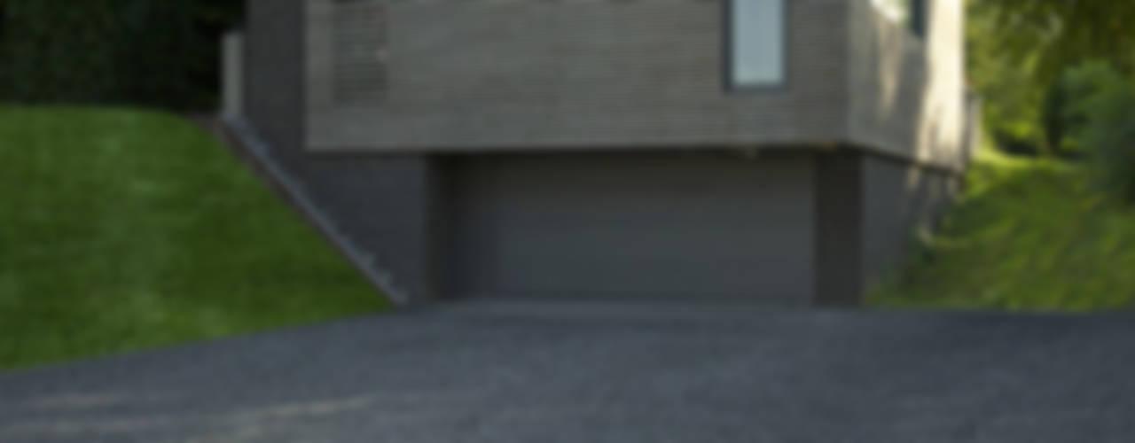 Maison contemporaine en bordure de ville Maisons modernes par OPEN ARCHITECTES Moderne
