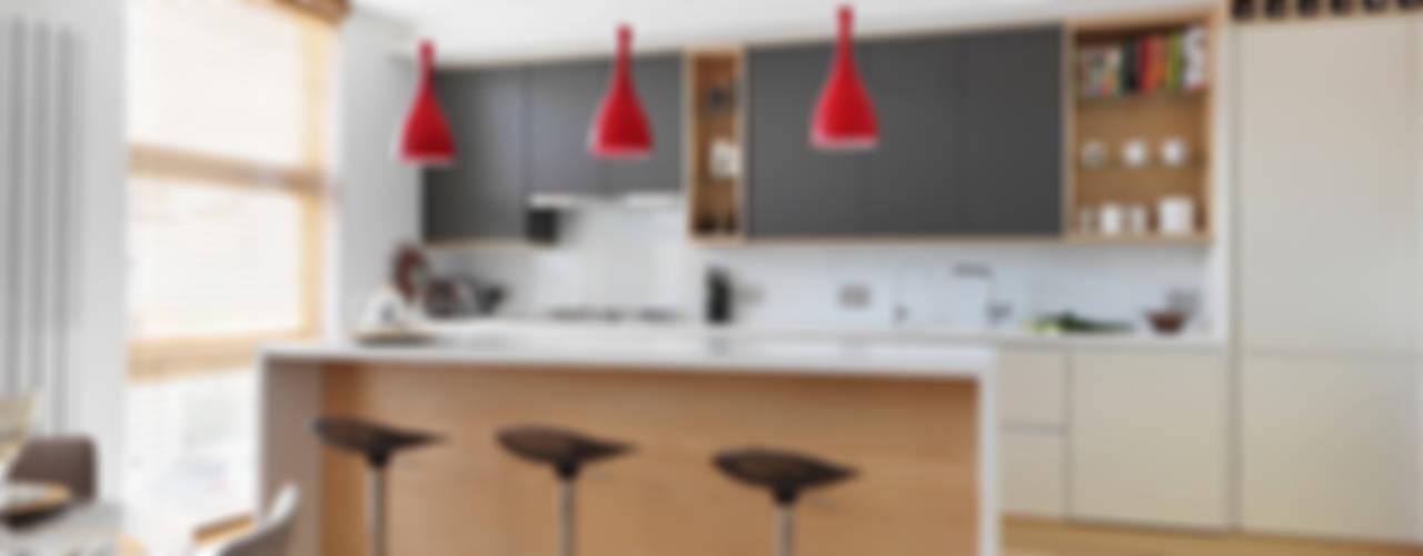 Private House Refurbishment in Primrose Hill, London Cocinas de estilo moderno de AR Architecture Moderno