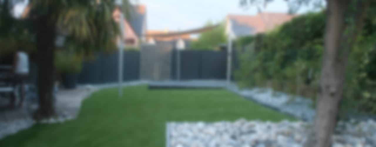 Aménagement complet pour un jardin de centre ville Jardin moderne par EURL OLIVIER DUBOIS Moderne