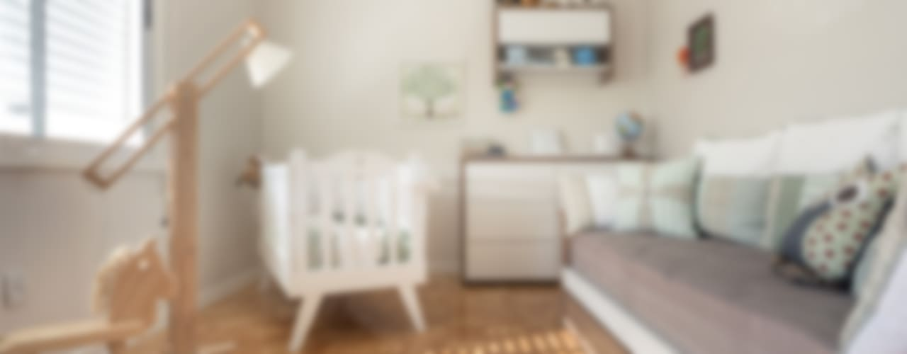 Детские комната в эклектичном стиле от Blacher Arquitetura Эклектичный