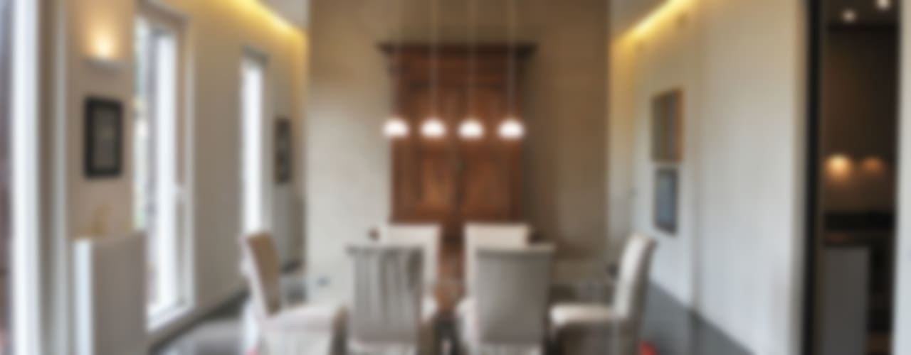 ORTOBOTANICO Sala da pranzo minimalista di NeAr New Architecture Minimalista