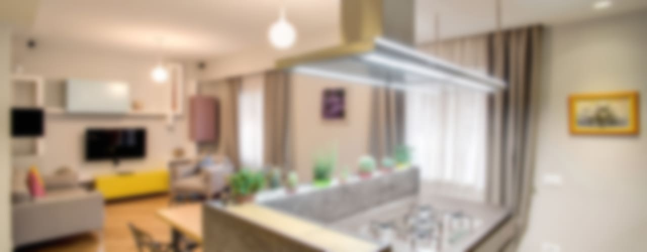 Projekty,  Kuchnia zaprojektowane przez MOB ARCHITECTS
