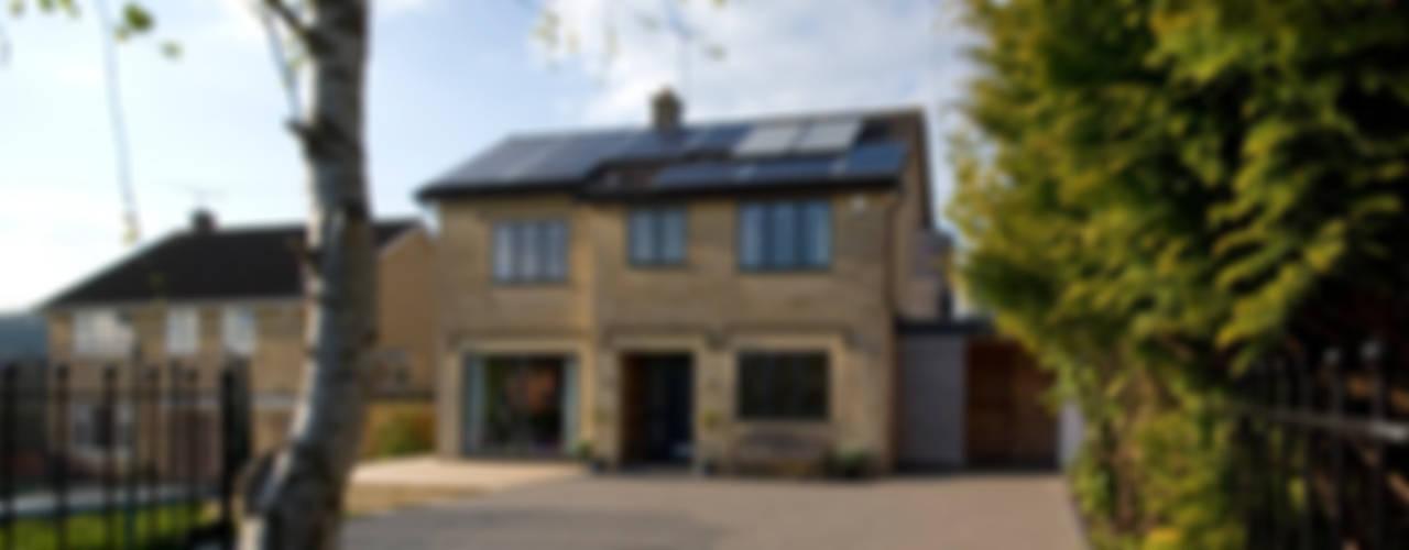 Calderwood Nowoczesne domy od Designscape Architects Ltd Nowoczesny