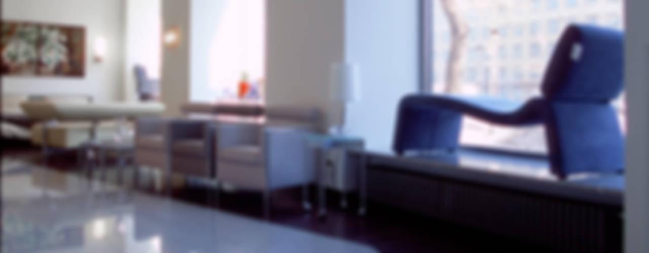 Рекреация в шоуруме : Офисы и магазины в . Автор – Архитектурное бюро Лены Гординой