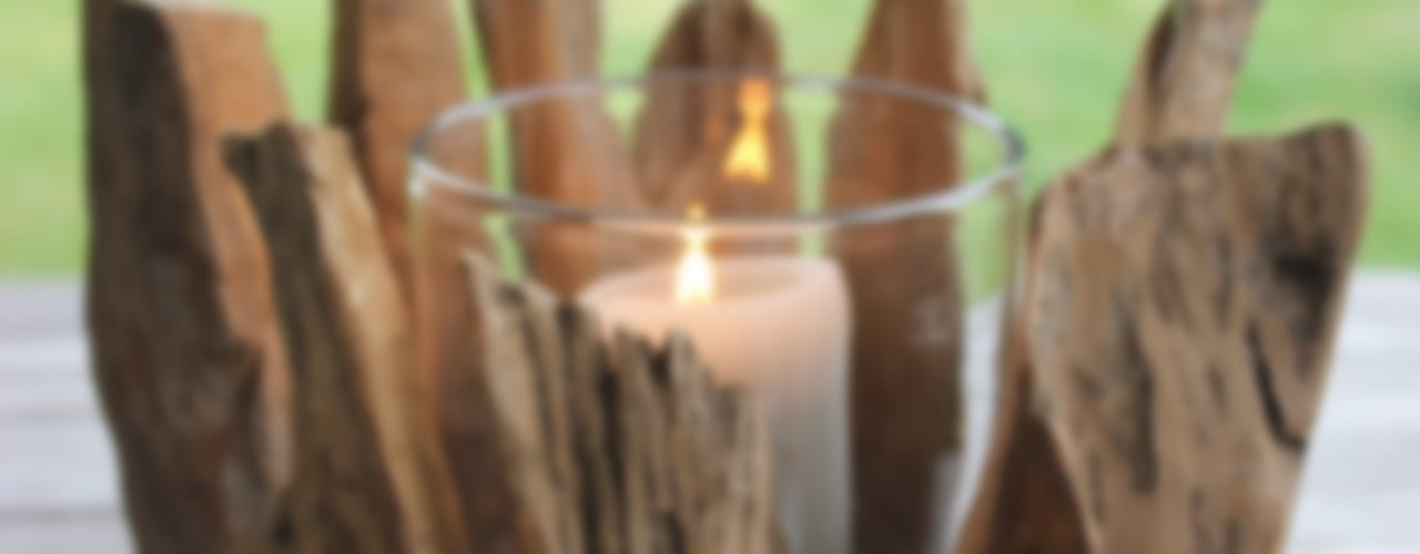 Greige - Outdoor Candle Holders and Lanterns: rustic  by Greige, Rustic