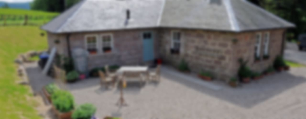 Laundry Cottage, Glen Dye, Banchory, Aberdeenshire Roundhouse Architecture Ltd Garden Furniture