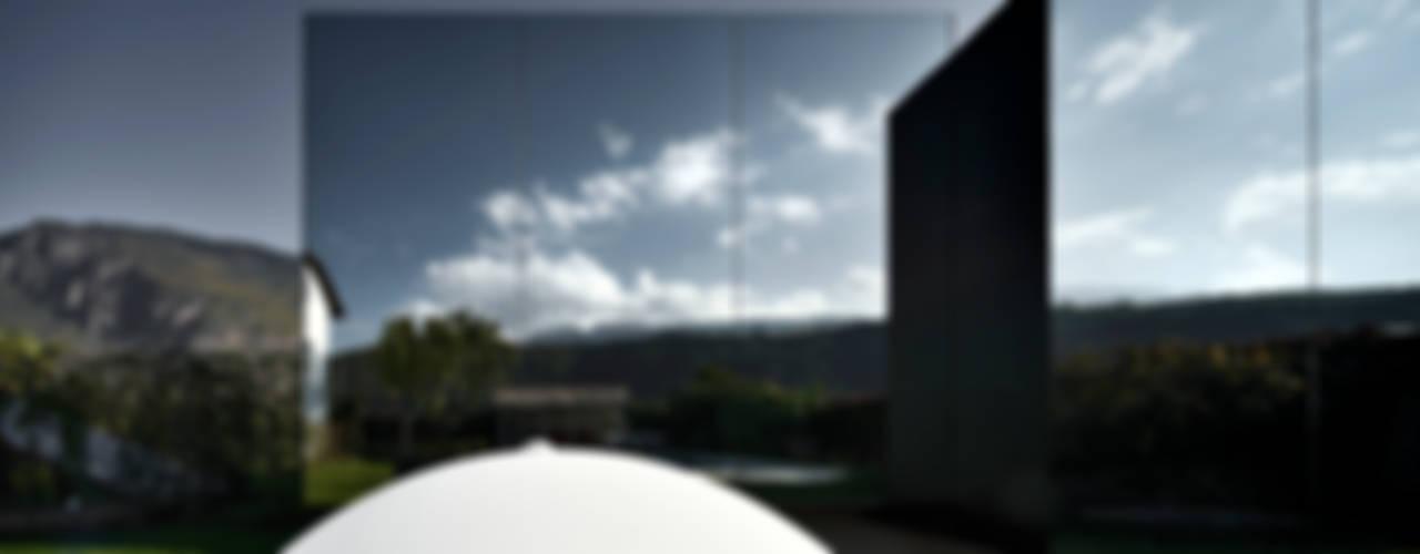Mirror Houses 미니멀리스트 주택 by Peter Pichler Architecture 미니멀
