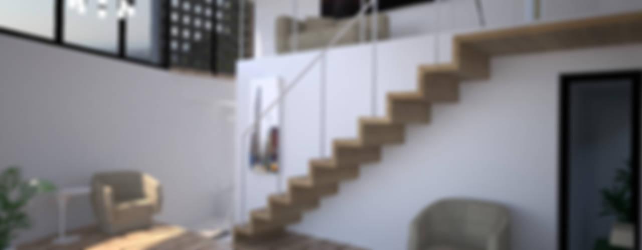 Banu Havis Hous Dormitorios de estilo minimalista de Criz Arquitectura Minimalista