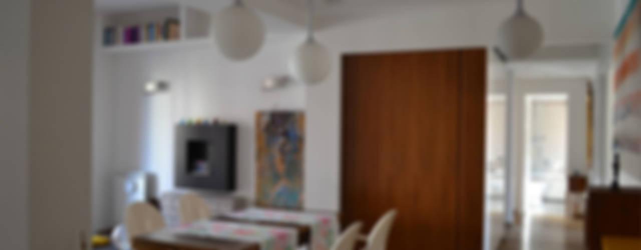 Lo spazio living – casa VFG di arch. Paolo Pambianchi Minimalista