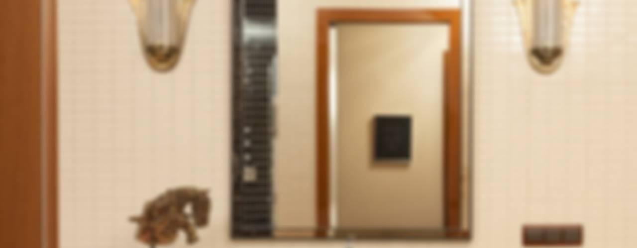 Новое ар деко: Ванные комнаты в . Автор – МАРИНА БУСЕЛ интерьерный дизайн