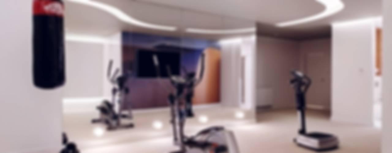Dom prywatny 2012 Nowoczesna siłownia od formativ. indywidualne projekty wnętrz Nowoczesny
