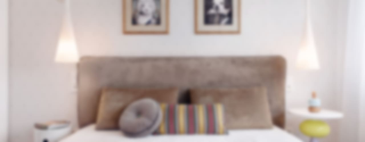 Apartament w Gdyni 2012 formativ. indywidualne projekty wnętrz Nowoczesna sypialnia