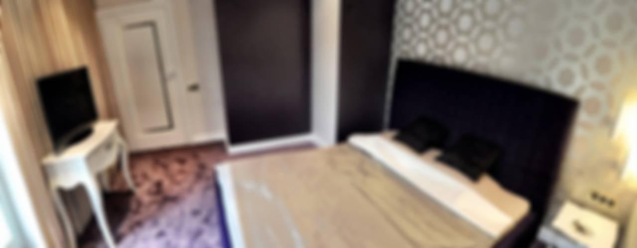 APARTAMENT FUSION Klasyczna sypialnia od Sikora Wnetrza Klasyczny