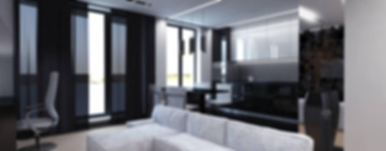 Дизайн 2-комнатной квартиры: Кухни в . Автор – Архитектурное бюро 'АрхСлон', Минимализм