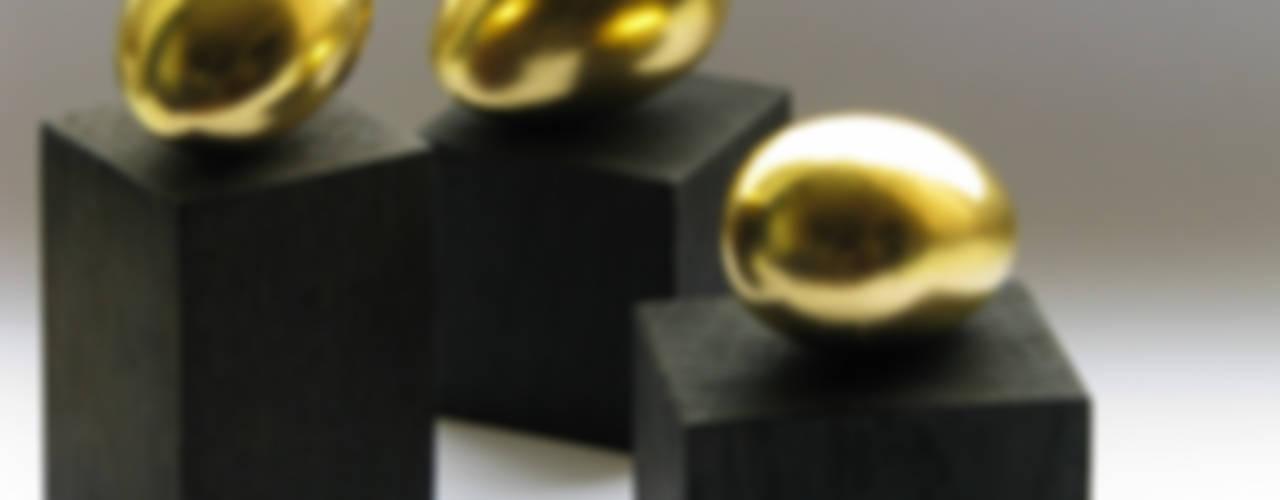 """Dekoracja """"Złote jajko"""" komplet : styl , w kategorii  zaprojektowany przez Galeria AtmoSfera"""