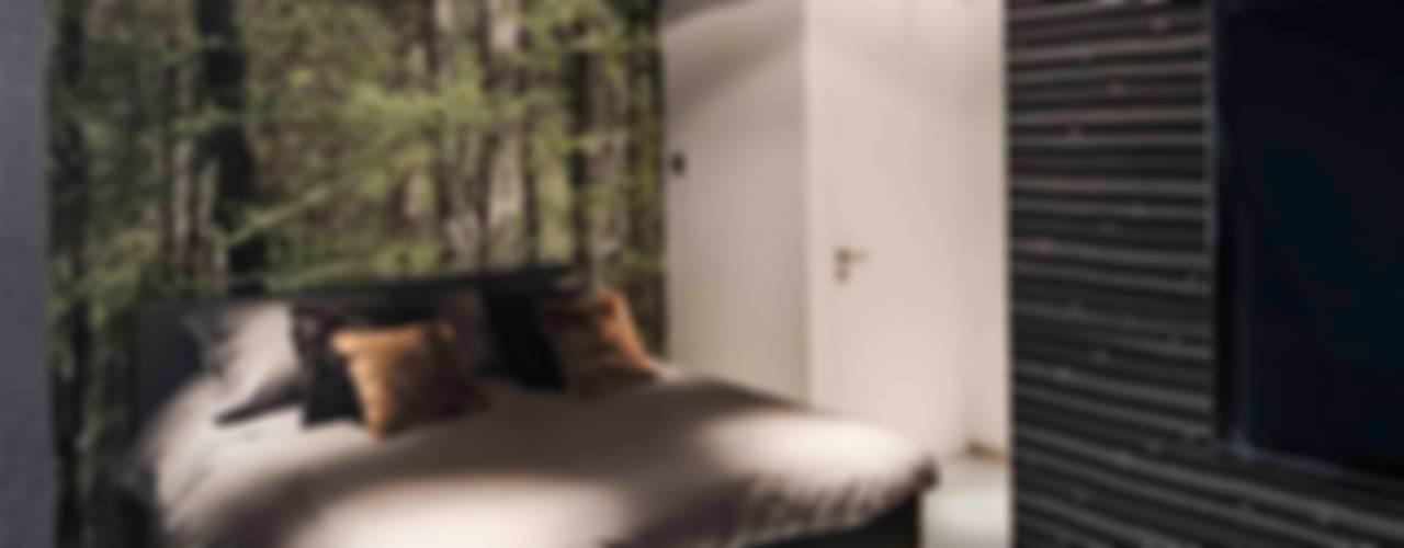 Minimalistyczna sypialnia od Decoussemaecker Interieurs Minimalistyczny