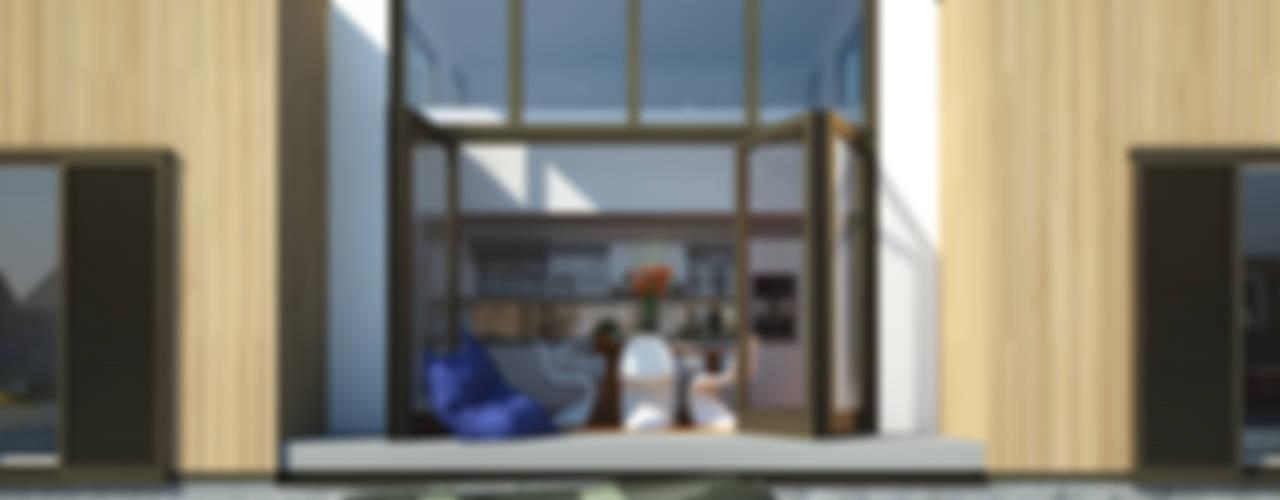 Orangerie Moderne serres van M&M Watervilla Modern