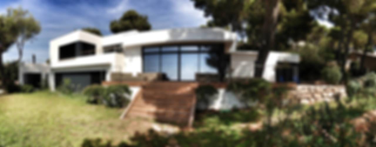 VILLA EMERAUDE Maisons modernes par emmanuel bobo architecte dplg Moderne