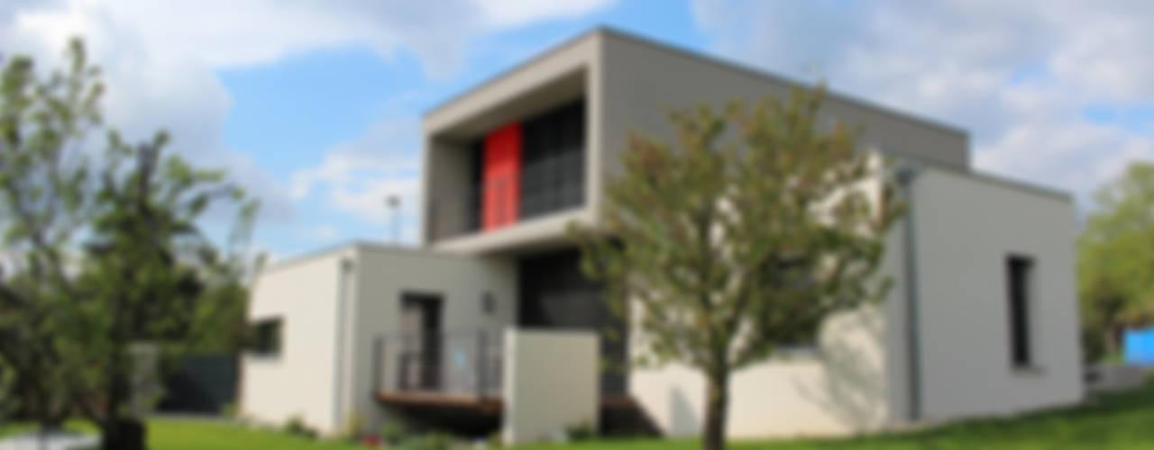 Maison individuelle - Région toulousaine Maisons modernes par Atelier d'architecture Pilon & Georges Moderne
