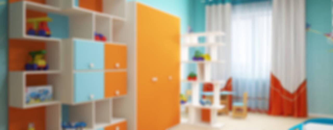 Dormitorios infantiles modernos de Мастерская дизайна ЭГО Moderno