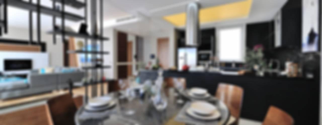 Sala da pranzo moderna di Voltaj Tasarım Moderno